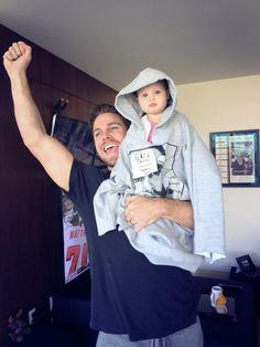 Stephen and daughter Mavi - F&ck Cancer!