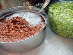 Good general info on soaking beans & grains (from 7-24 hours, depending on type)