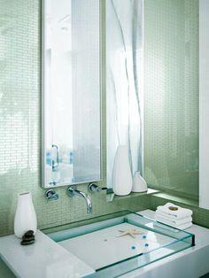 More bathroom tile