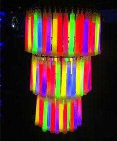 Glow chandelier