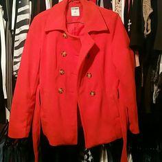 Old Navy Reddish Orange Coat Size Large