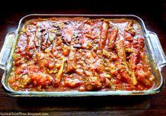 Turmeric & Saffron: Khoresh Bademjan - Eggplant Stew (leave out the meat)