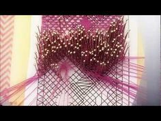 Arañas de encaje de bolillos - YouTube