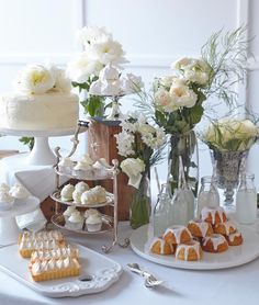 #Wedding #Dessert #Table styled by Tilly's Table.