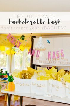 The Ultimate Bachelorette Bash Guide,. How to Throw An Epic Bachelorette Party, … Der ultimative Bachelorette Bash Guide. Diy Your Wedding, Pre Wedding Party, Wedding Games, Free Wedding, Wedding Tips, Party Planning, Wedding Planning, Diy Bachelorette Party, How To Memorize Things