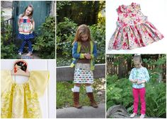 Sewing Clothes for Kindergarten from The Cottage Mama. www.thecottagemama.com