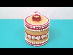 Best out of waste (Jewellery Box)