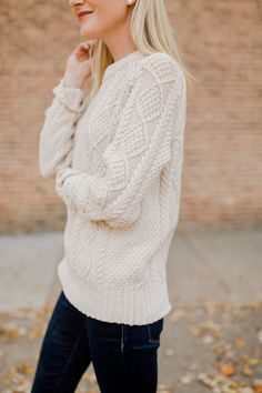 Cheap #Cozy #Knit Sweater Ideas for Fall and Winter