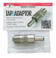 Goats Sheep Latest Fashion Little Giant Tap Adaptor For Pigs