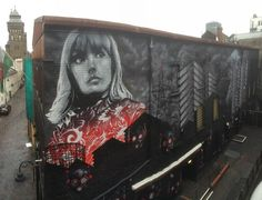 Finished Cardiff mural for @getitright ft. @gwennosaunders by @rmerism @karmone and more  #globalstreetart
