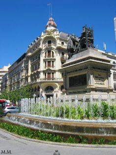 Plaza de Isábel la Católica.