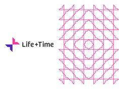 Life + Time management app logo & pattern design, L + T monogram by Alex Tass, logo designer Monogram Logo, Monogram Design, Logo Inspiration, Logos Photography, Logos Vintage, Logo Floral, App Logo, Best Logo Design, Logo Images