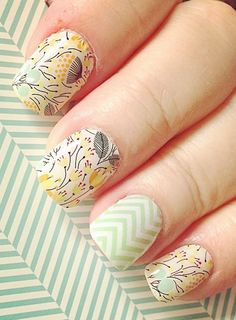 Loving these mint chevron/sweet Whimsy by Jamberry.  Contact me at themagicofjams@yahoo.com
