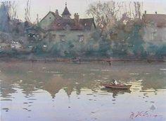 Joseph Zbukvic. Painting from A.Barbi
