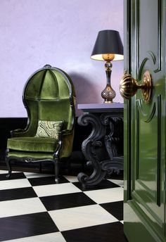 Absolutely drooling over this! That chair! desire to inspire - desiretoinspire.net - Jessica Lagrange