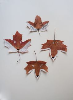 Kids create – Fox Leaves Good Excuses, Creative Play, Nature Crafts, Go Outside, Fox, Leaves, Create, Kids, Painting