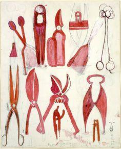 «Louise Bourgeois, Untitled (1986)». | Sutil y sencilla concepción artística deLouise Bourgeois.