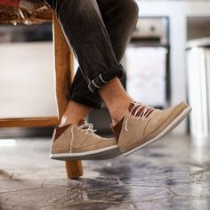 Classic Sand Suede Sneaker Boots by Volta - I live for shoes like these Me Too Shoes, Men's Shoes, Shoe Boots, Guy Shoes, Mens Fashion Blog, Fashion Shoes, Men's Fashion, Casual Shoes, Men Casual