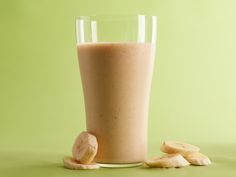 Banana Nog Smoothie Recipe: Loaded with fiber and low in fat, this holiday-inspired smoothie is a satisfying alternative to eggnog. We use dried dates to add some natural sweetness.