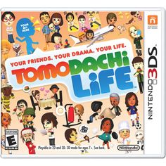 Tomodachi Life - Supposedly, the hilariously awesome game ever! I, luckily, should be able to get if soon!!!SO EXCITED!!!