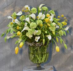 French tulips and other flowers. From Claus Dalbys blog.