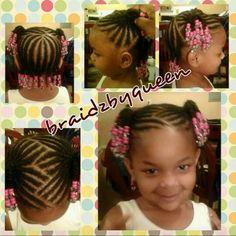 Braided children's style