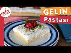 How to make bridal cake? Source by dilekgunbatti Honey Dessert, Turkish Sweets, Paris Brest, Homemade Beauty Products, Iftar, Cheesecake, Yummy Food, Bridal, Baking