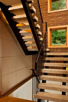 Contemporary Stairs | Interior Design | Spiral Staircase | Glass Details