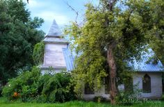Abandoned Church ~ Minden, Nebraska Suzy Fantastic ~ View From The Hamster Ball