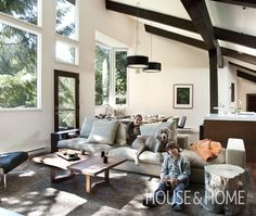Photo Gallery: Contemporary & Modern Living Rooms | House & Home