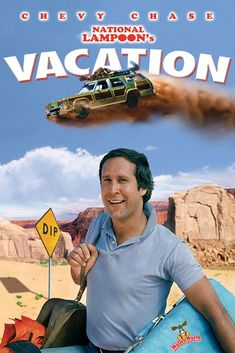 """National Lampoon's Vacation"" Chevy Chase, Beverly D'Angelo, The Griswold family's cross-country drive to the Walley World theme park. 80s Movies, Funny Movies, Comedy Movies, Great Movies, Movies To Watch, Awesome Movies, Famous Movies, Iconic Movies, Movies Showing"