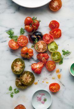 tomatoes by aran goyoaga.