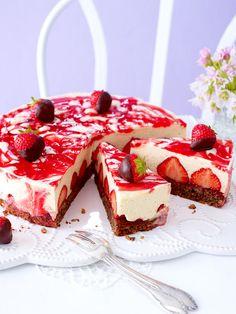 Erdbeer-Schoko-Zabaione-Torte
