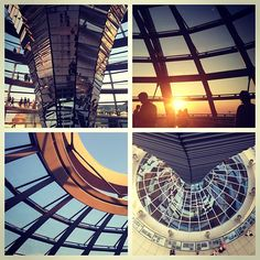 Koepel van de Reichstag. Instagram photo by @Melanie De Vrieze