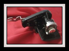 Vintage Singer Pinking Attachment 121021-  Featherweight 201-2-Rare-Collectible! #Singer