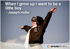 Motivational Quote of the Day by Joseph Heller - this pretty much sums it all up!