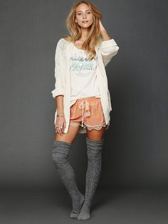 Intimately Silky Velvet Lounge Short at Free People Clothing Boutique-- this looks like the comfiest thing ever. I want to live in this outfit. Lounge Outfit, Lounge Shorts, Lounge Wear, Lounge Clothes, Short Outfits, Cute Outfits, Only Fashion, Womens Fashion, Velvet Lounge
