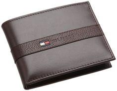 7bd9b9d7a2 Tommy Hilfiger Men\'s Ranger Passcase Wallet -Tommy Hilfiger Ranger  Billfold Passcase Wallet w/Valet Gift Box- - Auction