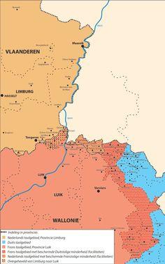 De taalgrens in 1963