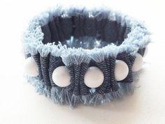DIY Old Jeans Bracelet