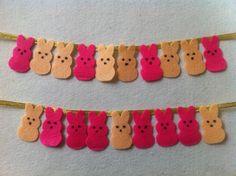 DIY So Cute Bunny Garland- Easter Craft Ideas