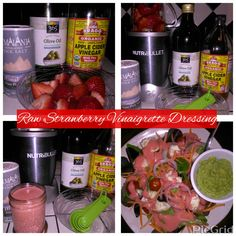 Raw Strawberry Vinaigrette Dressing Recipe | Hebrew Israelite Chauncyne Kinion