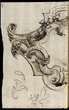 [Dessin d'ornement] | Centre de documentation des musées - Les Arts Décoratifs