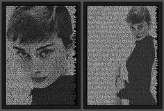 Ralph Ueltzhoeffer, Audrey sample, 2008 / 2009 © uk.lumas.com/ #Lumas,  60s,  Actress,  Actresses,  Audrey Hepburn,  Beauty,  black-and-white,  Celebrities,  Diva,  Divas,  Earrings,  Elegance,  Fashion,  Film,  Films,  Givenchy,  Glamor,  glamorous,  Hat,  hats,  Jewellery,  Photography,  Portrait,  Portraits,  sixties,  Star,  Stars,  Woman,  Women