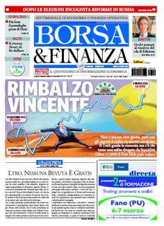 Borsa e Finanza del 03 Marzo 2012