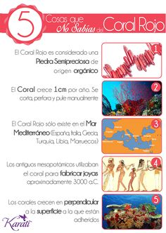 #Coral #CoralRojo #Gemstone www.karati.com
