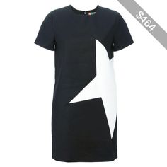 MSGM star T-shirt dress
