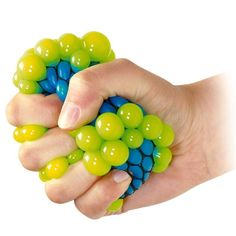 Buy Squishy Mesh Balls Fidget Stress Toys Squishes Kids Fun Play Squeezy Gripper Ball at Wish - Shopping Made Fun Autism Sensory, Sensory Toys, Bola Anti-stress, Balle Anti Stress, Colored Bubbles, Stress Toys, Fidget Toys, Party Bag Fillers, Gag Gifts