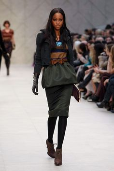 Burberry Fall/Winter 2012 collection.
