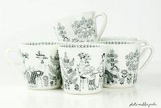 Kitchenware, Tableware, Vintage Ceramic, Tea Set, Home Kitchens, Modern Design, Ceramics, Collections, Finland